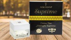 ALMA BRIOSA Suprême: crema viso nutriente ed idratante con supremo potere antirughe.