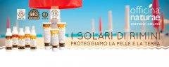 I SOLARI DI RIMINI  Creme solari a protezione certificata - OFFICINA NATURAE Cosmetici naturali