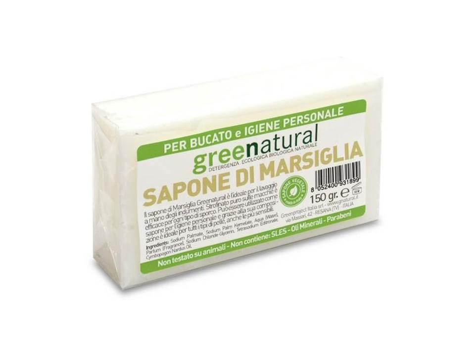 Per la casa sapone vegetale di marsiglia per bucato 150 gr - Sapone neutro per pulizie casa ...